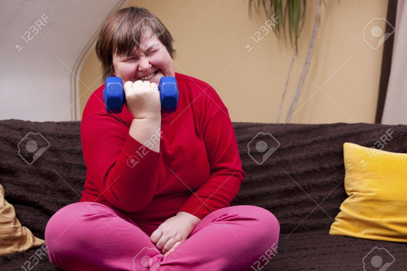 mentally disabled woman can achieve anything Stock Photo - 18876162