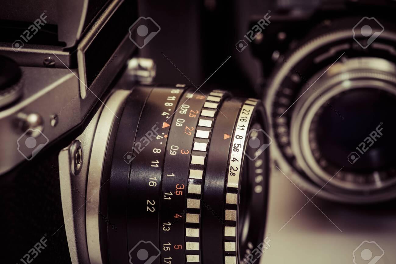 Analog camera Standard-Bild - 30153857