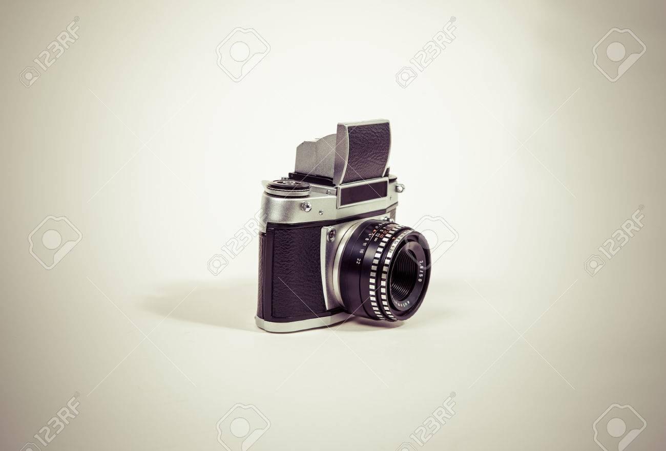 Analog camera Standard-Bild - 30153877