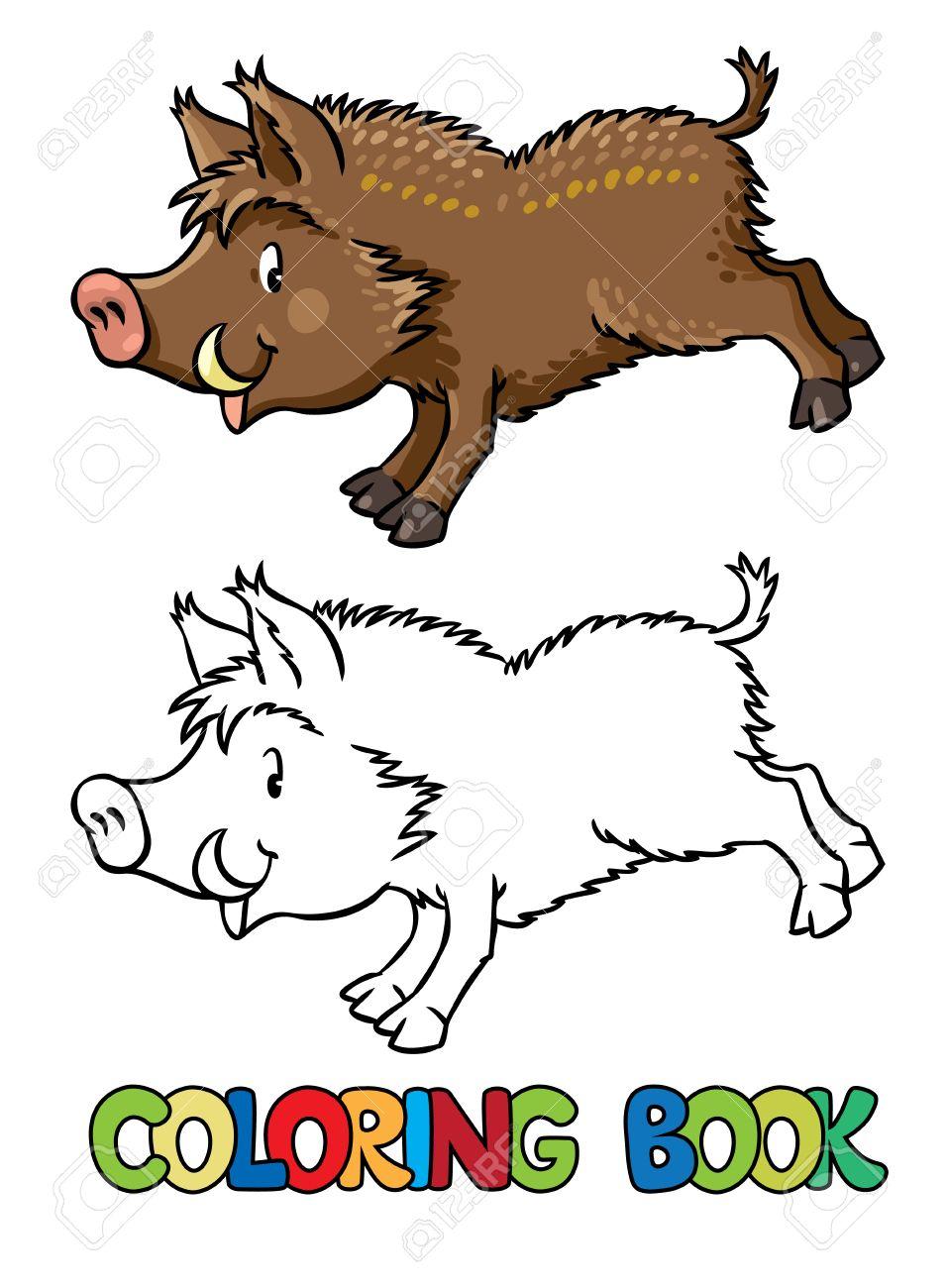 Dibujos De Jabalies Para Colorear. Cheap Dibujo De Mero Para ...