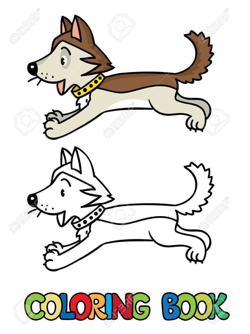 Dibujos Para Colorear De Perros Cachorros. Best Colorear Perro ...