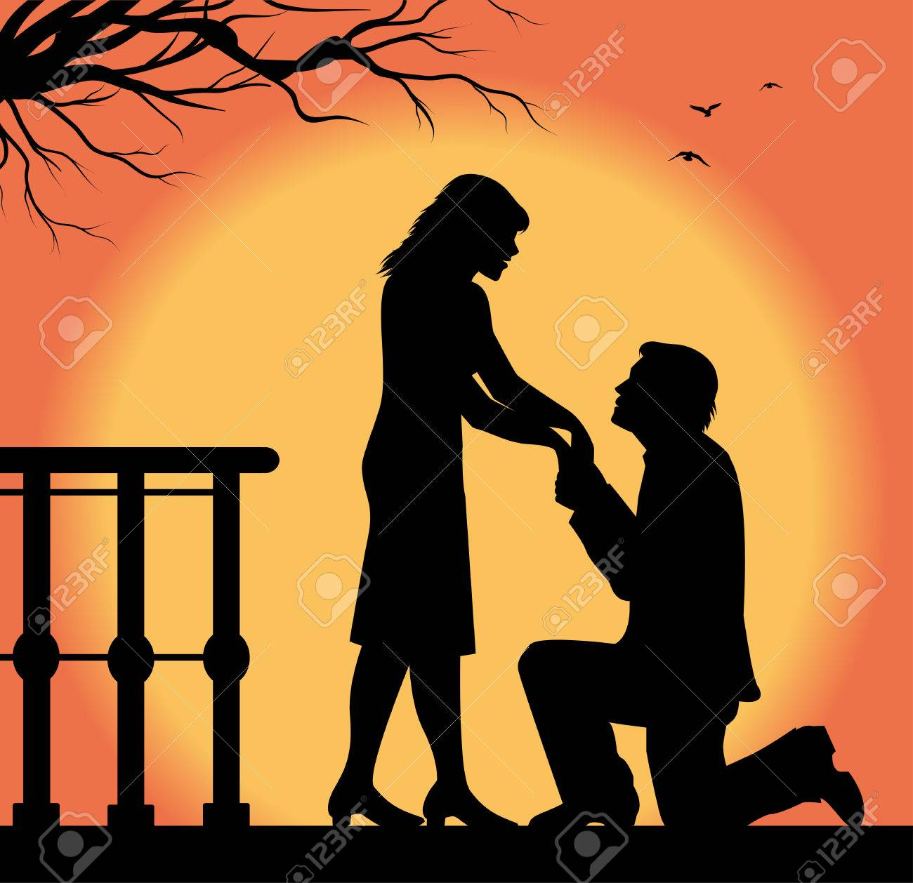 Liebeserklärung an mann