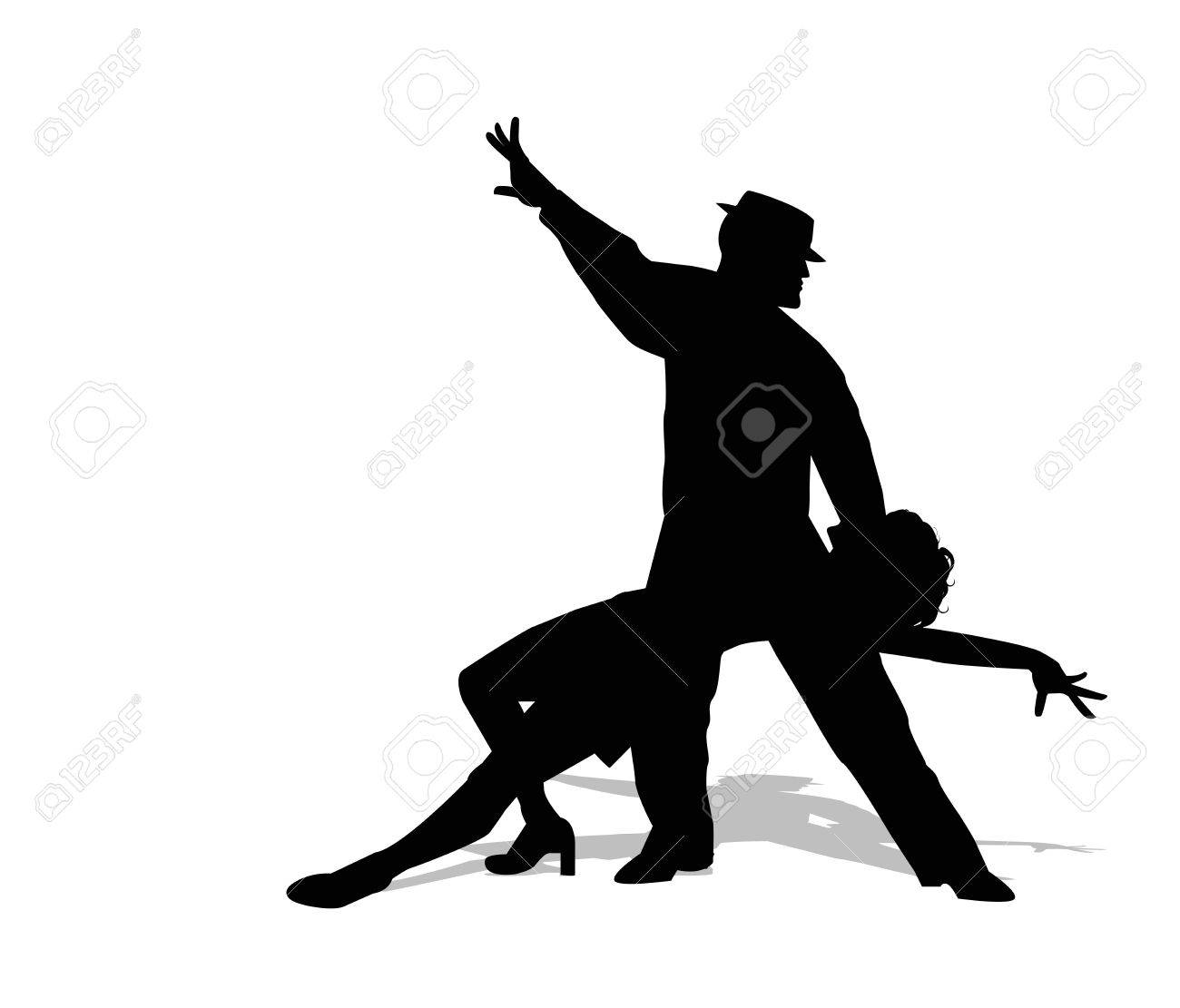 dancers silhouette - 50146295