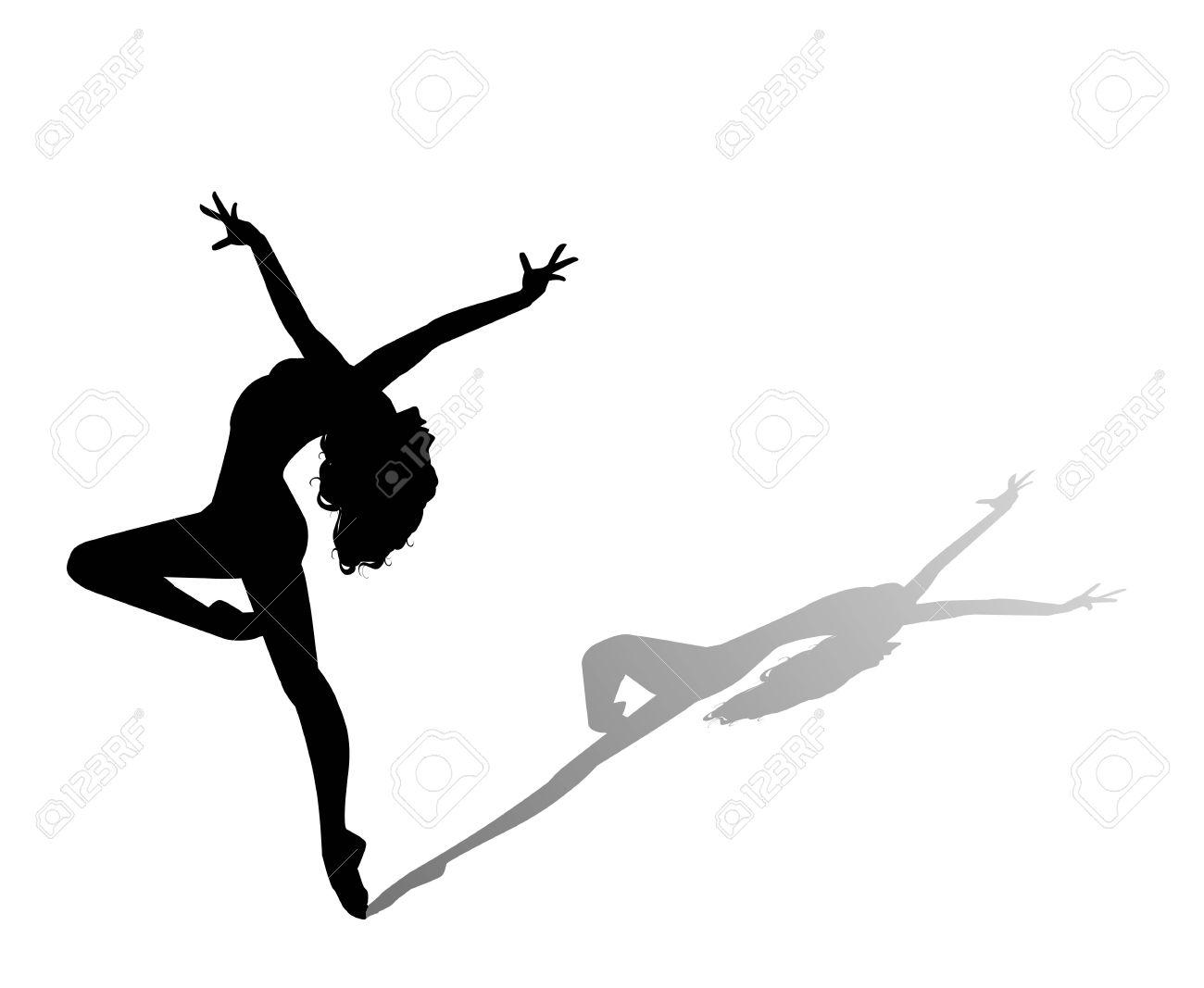dancer silhouette - 50986205
