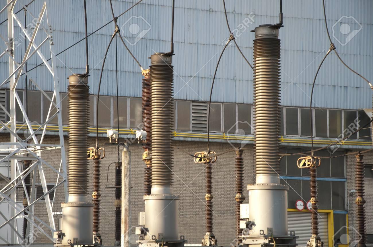 High Voltage Transformer Stock Photo - 10795313