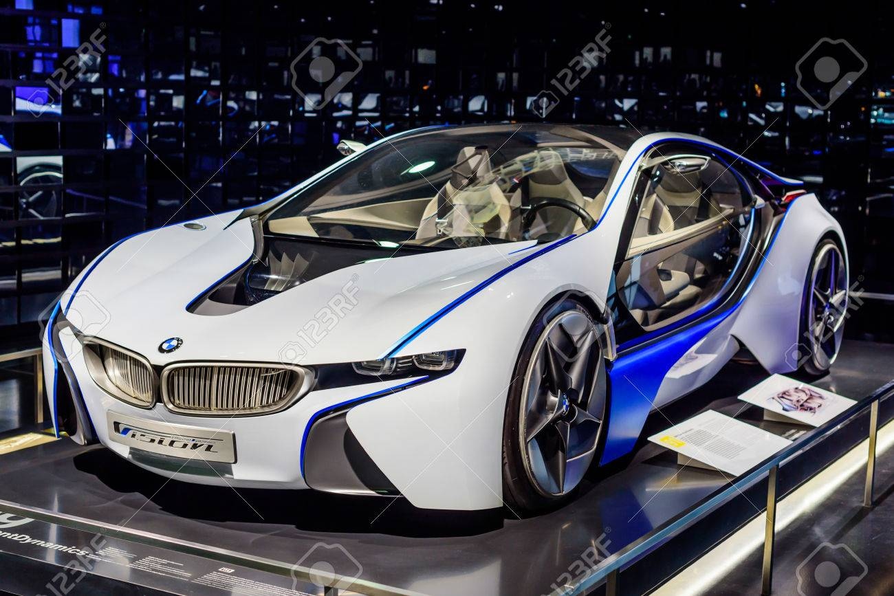 Munich Germany April 19 2016 Futuristic Bmw Car