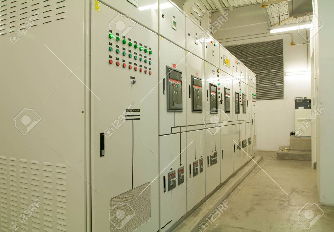 Electrical Switchgear -- Industrial Electrical Switch Panel Stock ...