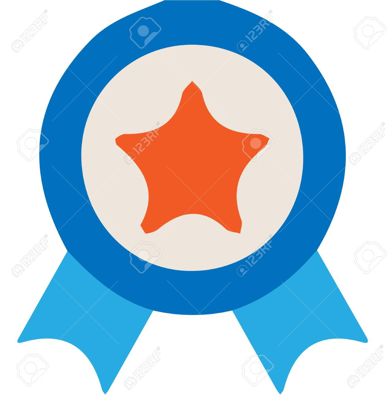 Medal of honor icon on white background - 146851635