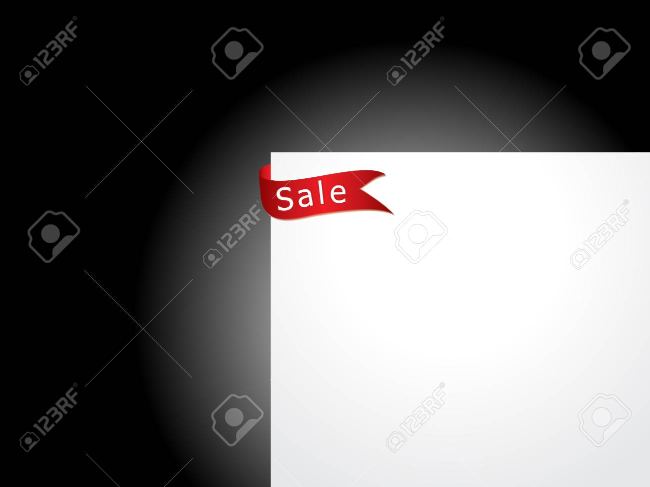 abstract sale tag sticker vector illustration Stock Vector - 9085471