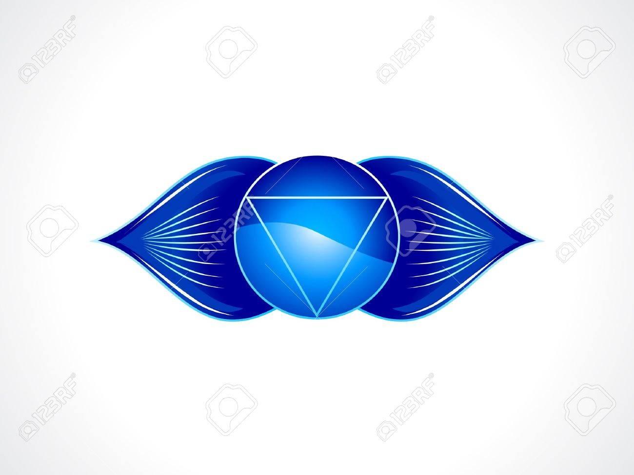 detailed brow chakra vector illustration Stock Vector - 16407180