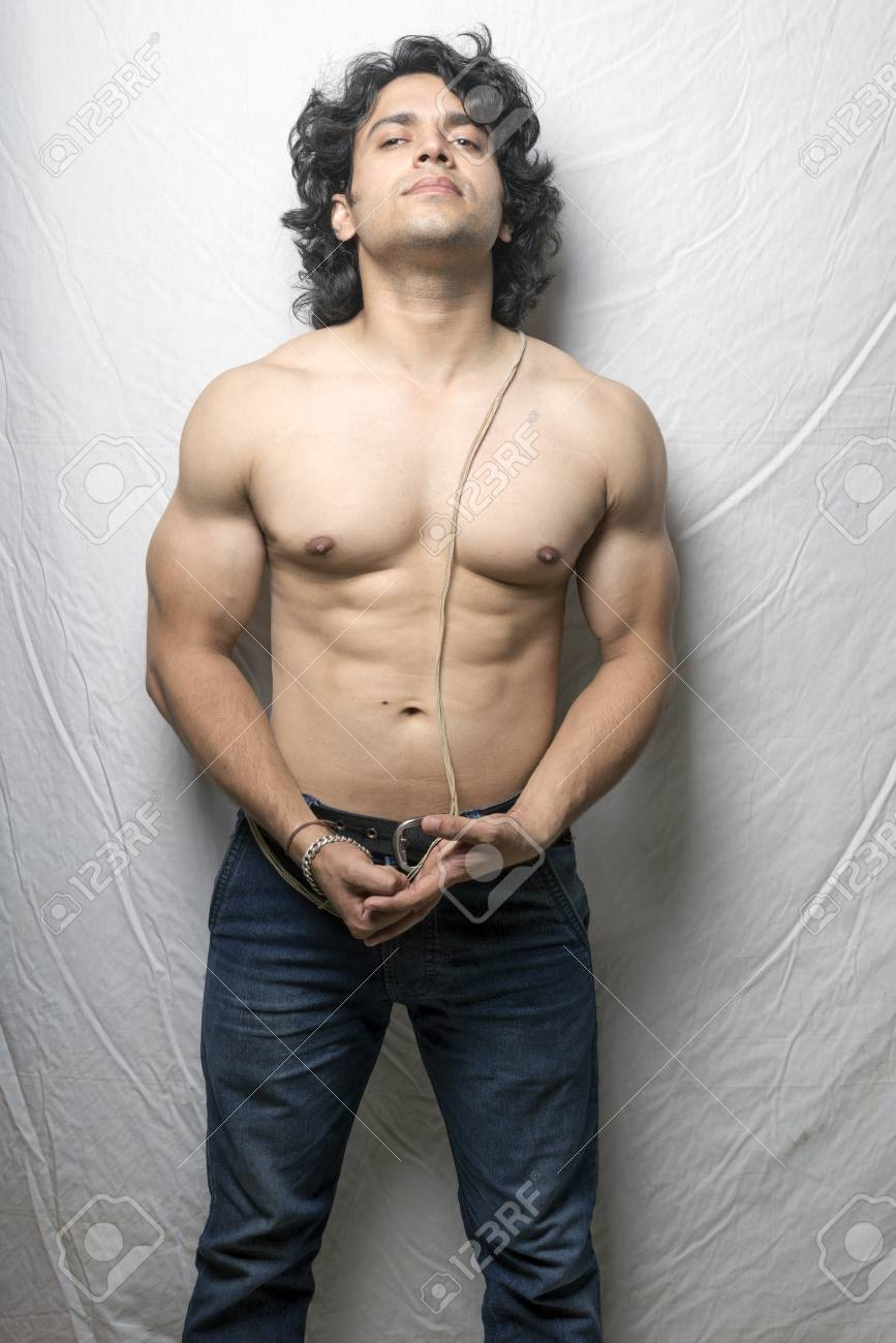 Young Indian Male Model Posing Strength Stock Photo Picture And Royalty Free Image Image 109739194