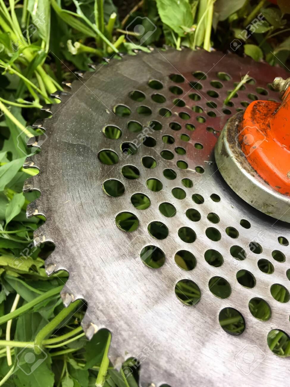 Lawn mower, grass, equipment, mow gardener care work tool - 148013005