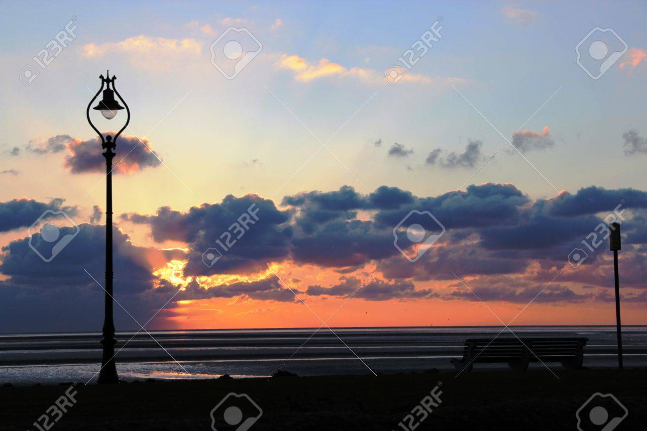 sunrise over dublin bay in summer stock photo picture and royalty