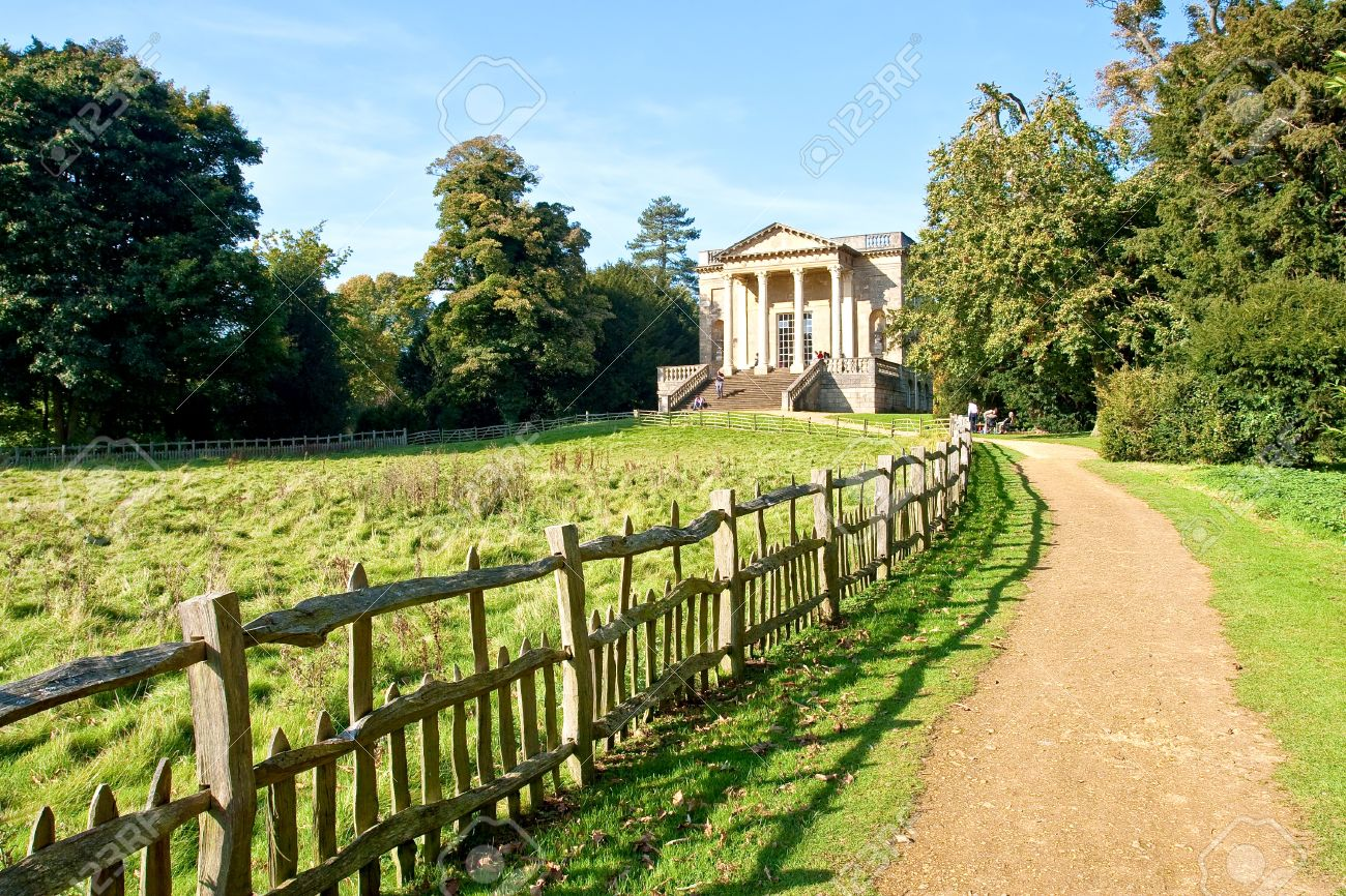 Stowe landscape garden stock photo picture and royalty free image stock photo stowe landscape garden workwithnaturefo