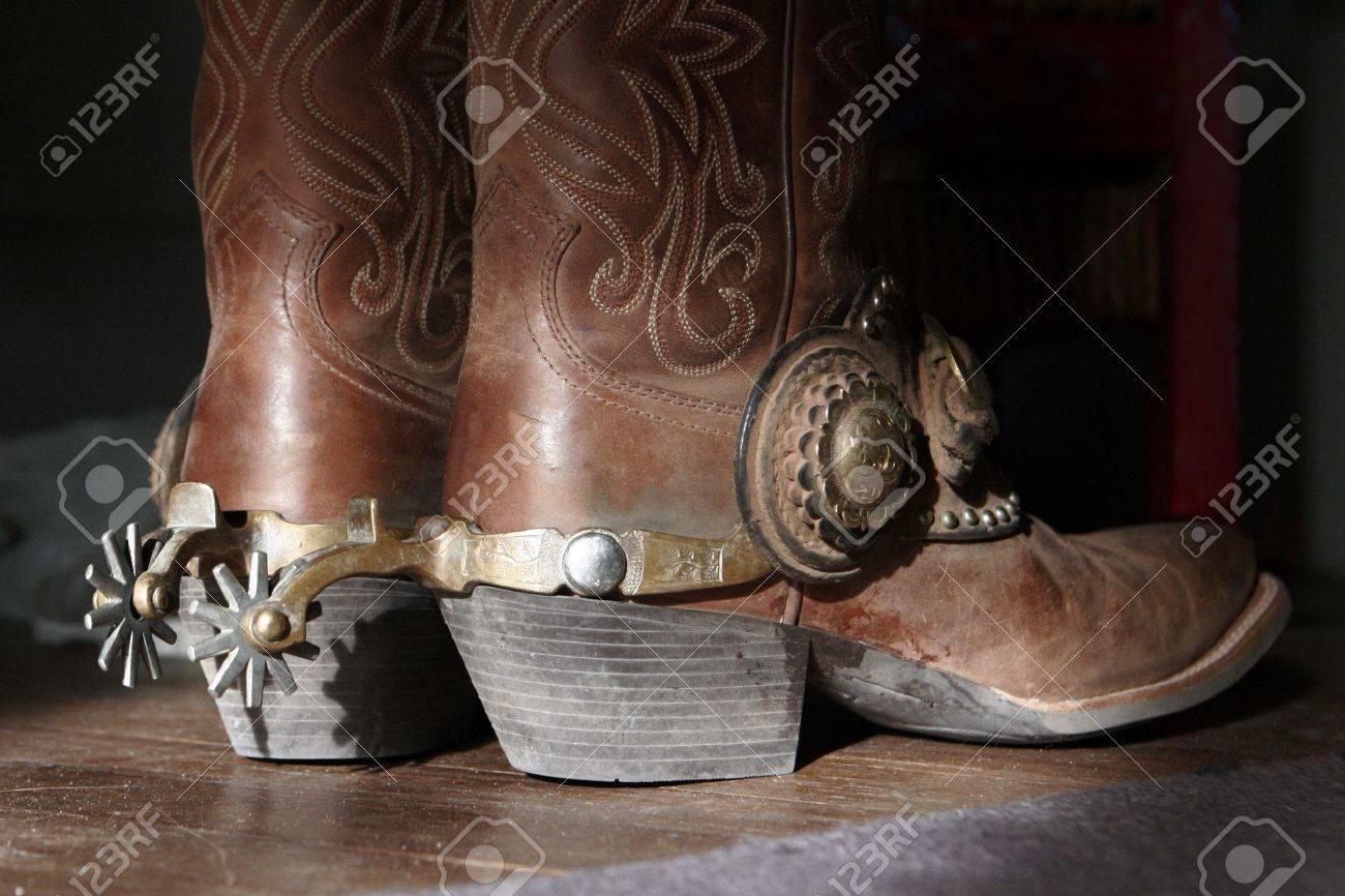 Cowboy boots \u0026 spurs
