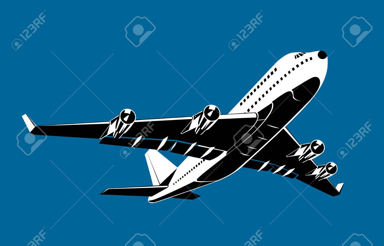 Airplane taking off Stock Vector - 2323462