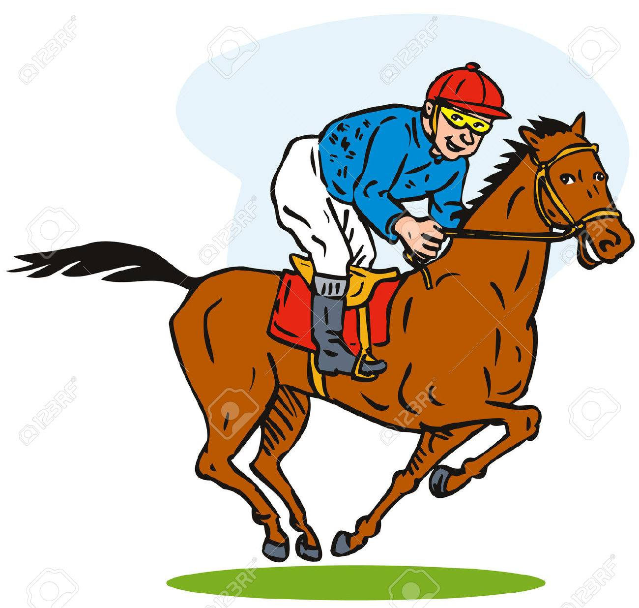 horse racing royalty free cliparts vectors and stock illustration rh 123rf com horse racing clipart in ai free horse race clipart
