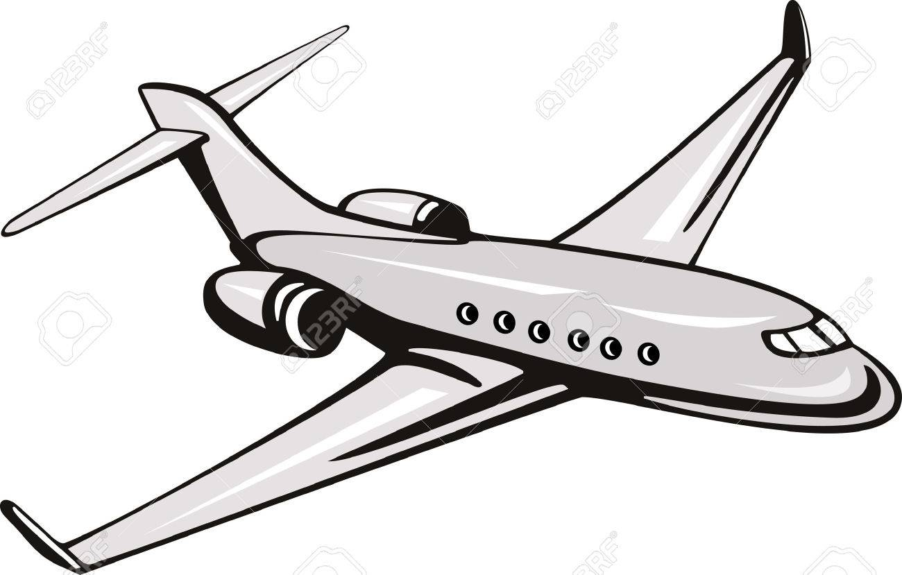 Corporate jet Stock Vector - 3966084