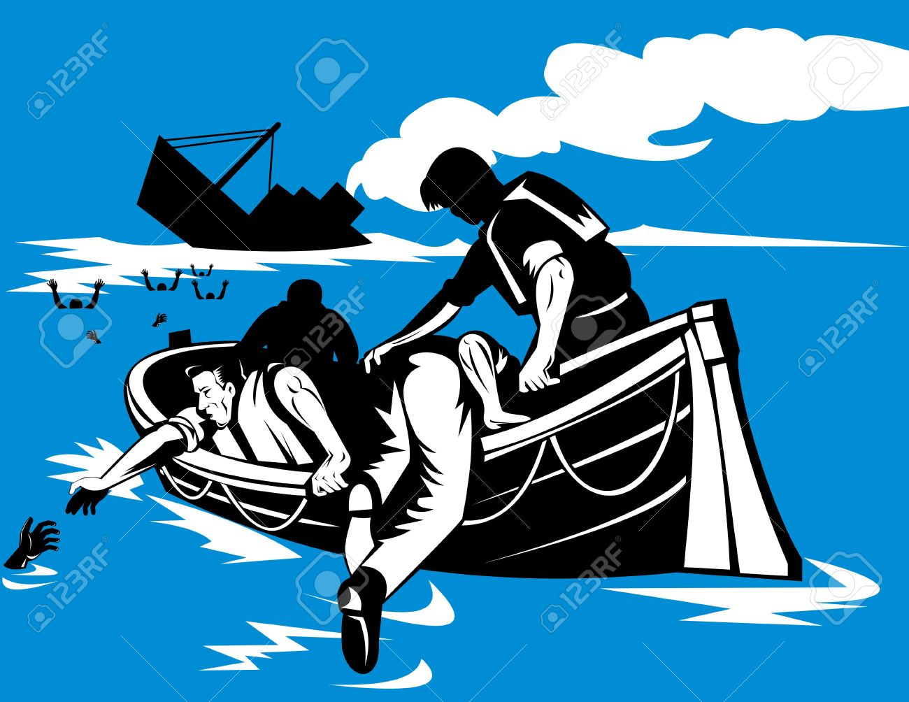 264 Sinking Boat Stock Illustrations, Cliparts And Royalty Free ...