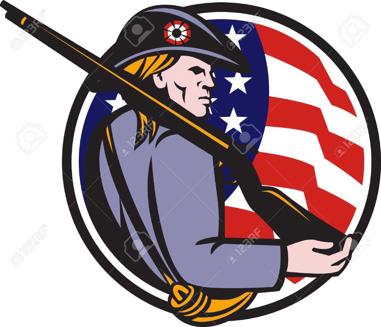 81 minuteman stock illustrations cliparts and royalty free rh 123rf com National Guard Minuteman Clip Art minutemen clipart