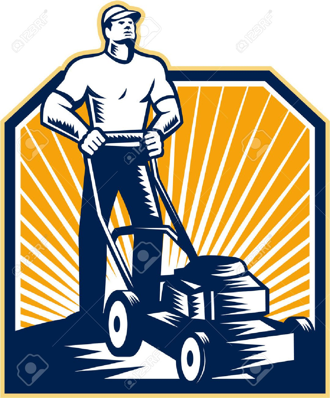 3 240 lawn mower cliparts stock vector and royalty free lawn mower rh 123rf com Lawn Service Clip Art free lawn mower clipart download