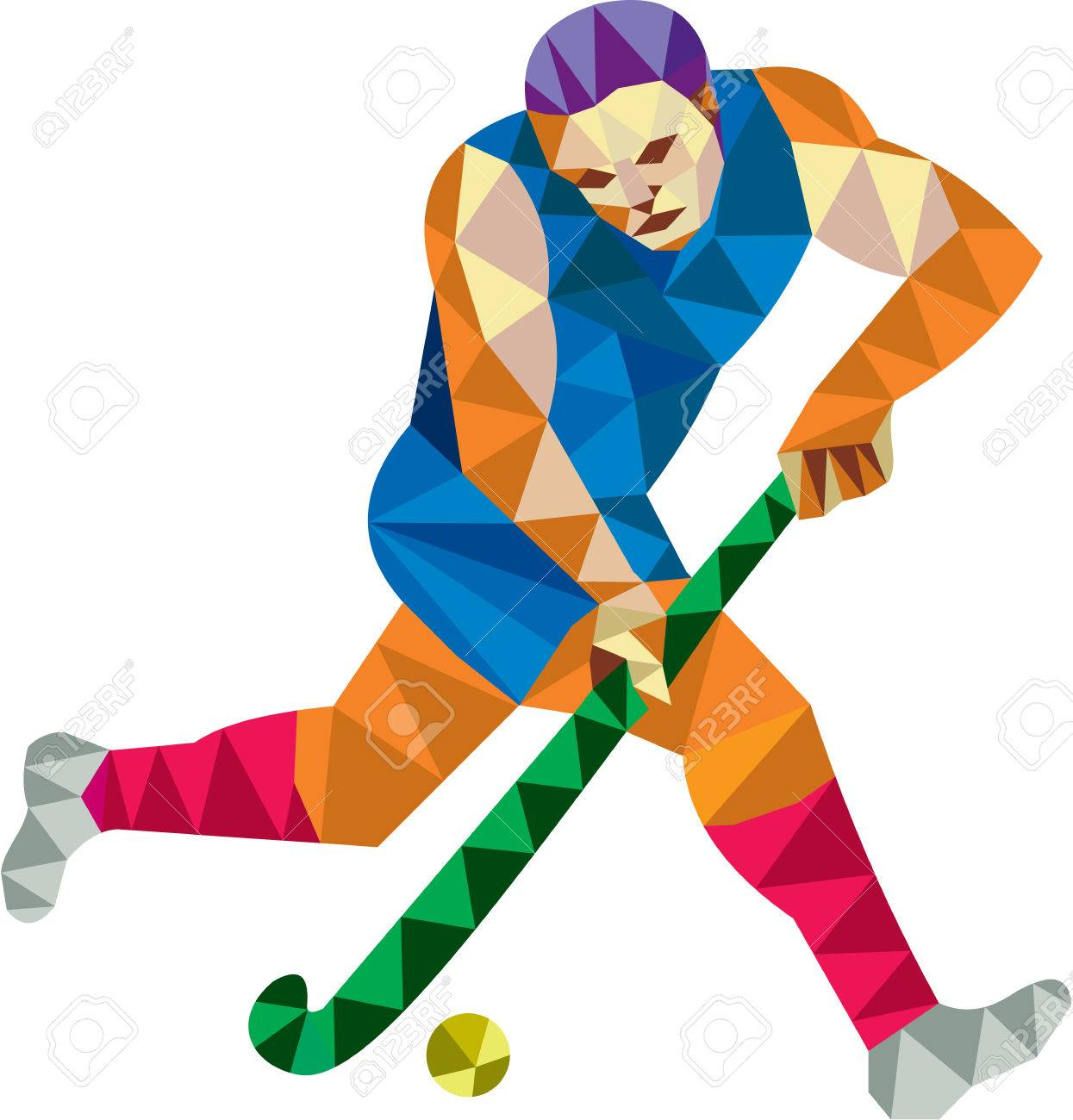 Image result for free picture of hockey stick and ball
