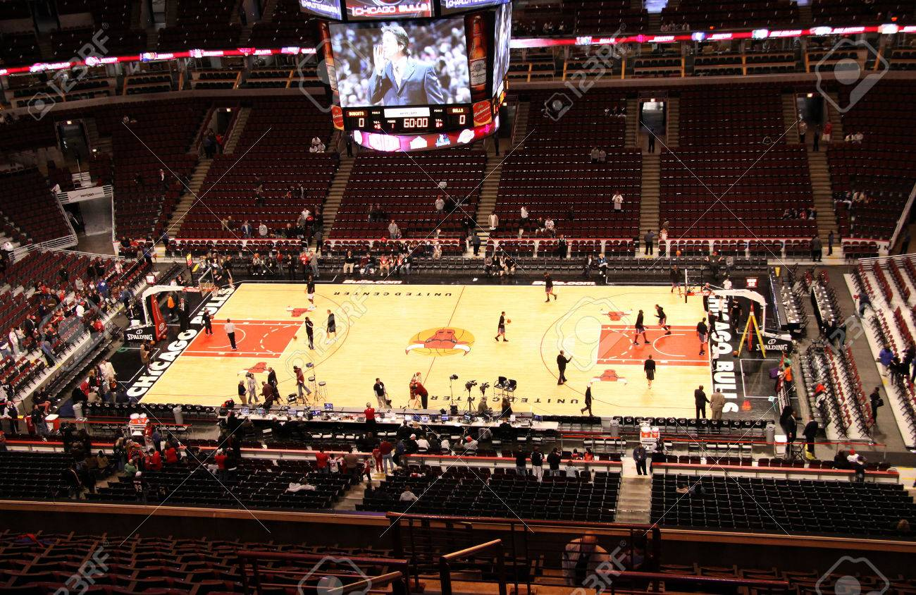 Photo Of The United Center The Indoor Sports Arena Home To The