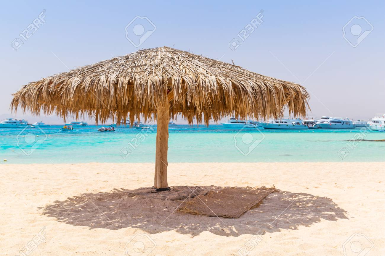 Idyllic Beach Of Mahmya Island With Turquoise Water Egypt Stock Photo Picture And Royalty Free Image Image 59421909