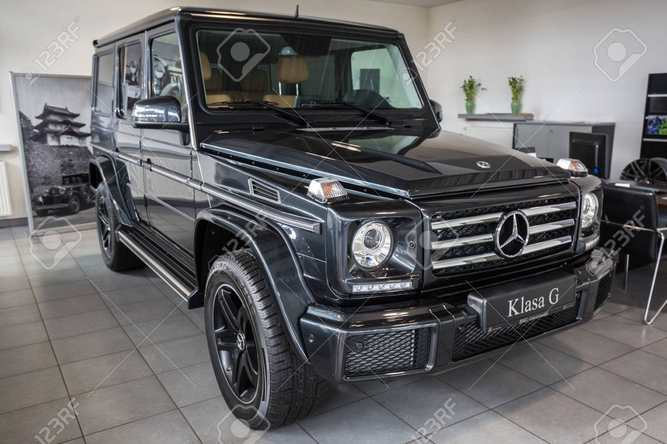 New Mercedes Suv >> Gdansk Poland February 13 2018 New Mercedes G Class Suv