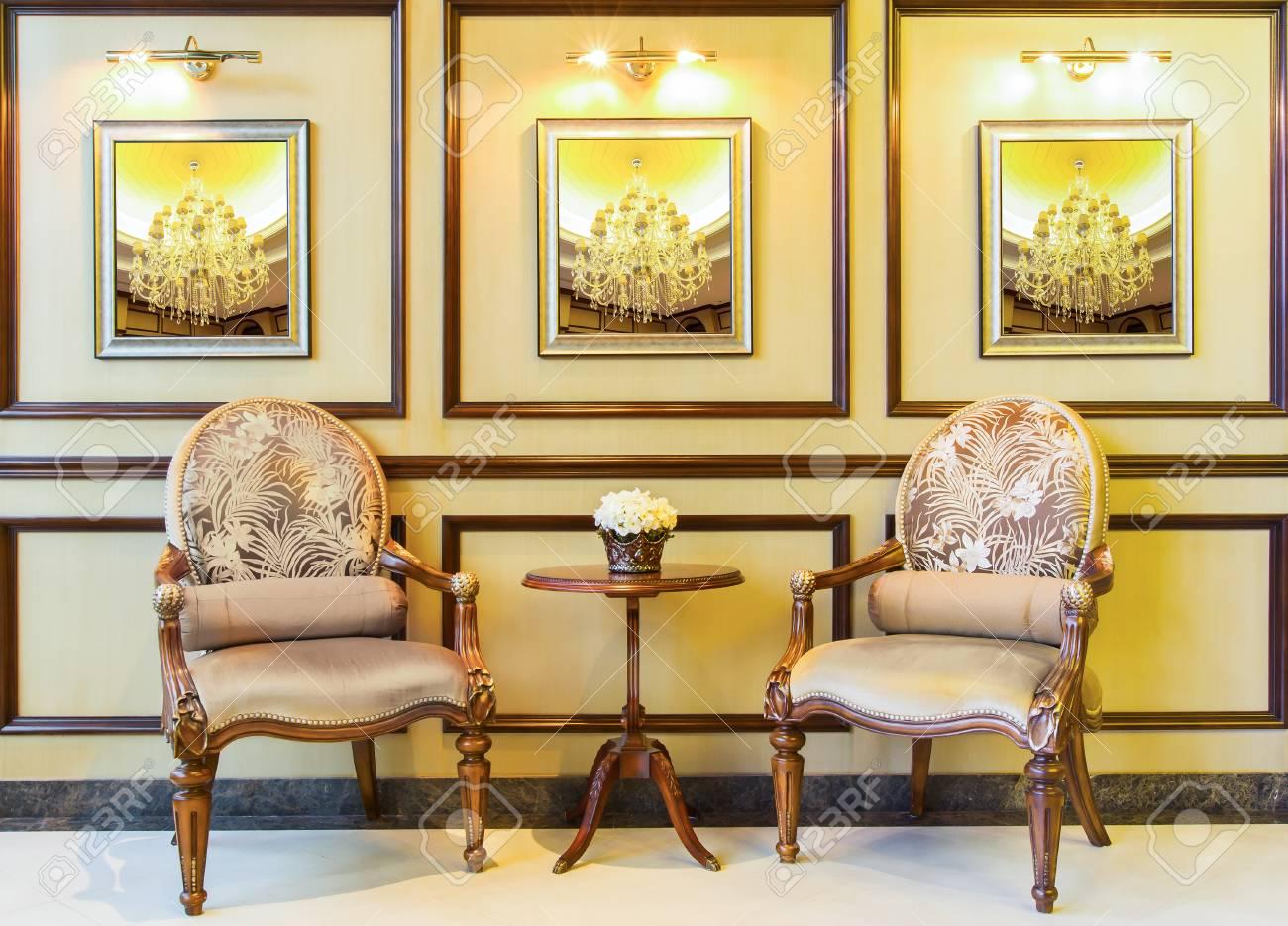 Luxury vintage chair Stock Photo - 24253644