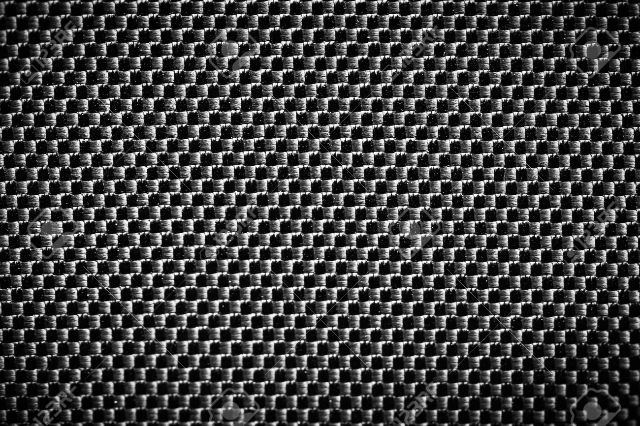 Black Carbon Fiber Texture Closeup Background. Industrial Carbon ...