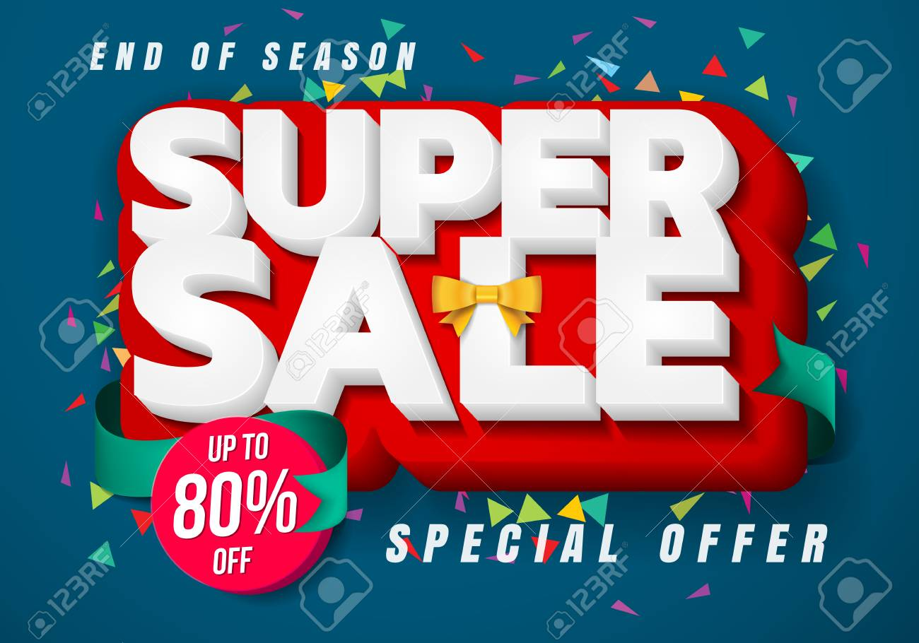sale banner template design big sale special up to 80 off christmas sale