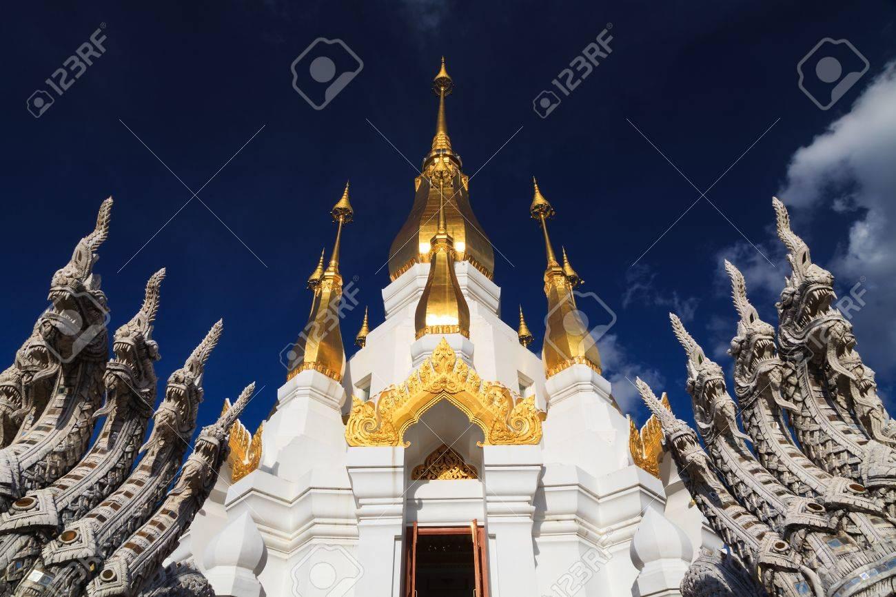 Thai temple, Wat tham kuha sawan, Ubon ratchathani province, Thailand Stock Photo - 16552271