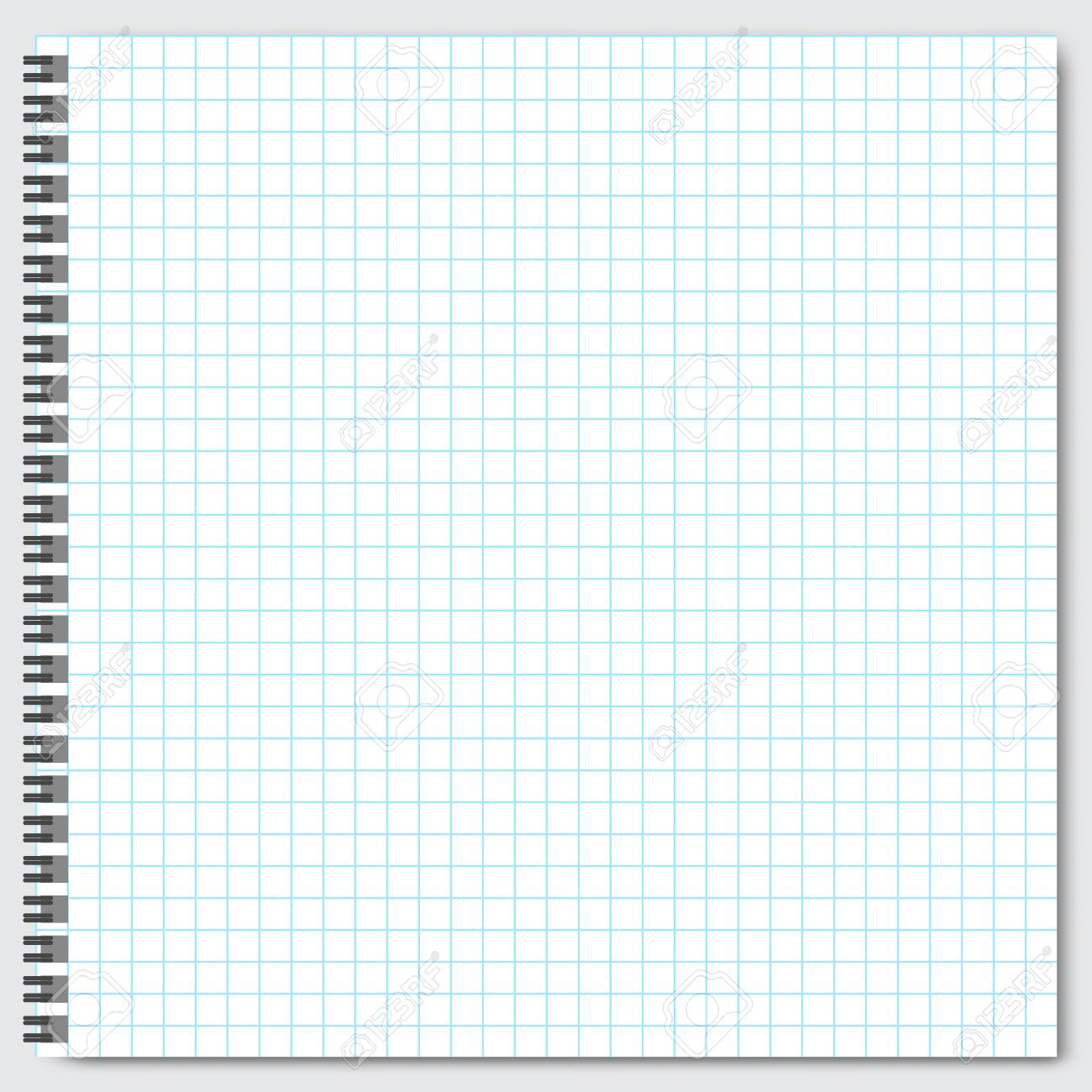 blank lined paper template one page notebook exercise book