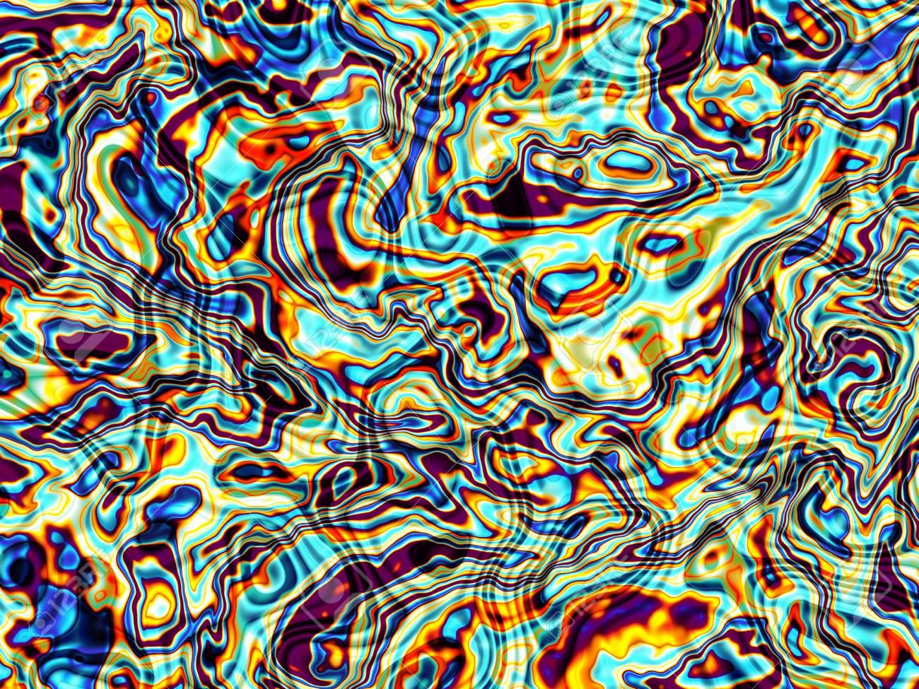 Immagini Stock Orizzontale Sfondo Astratto In Stile Arte Digitale