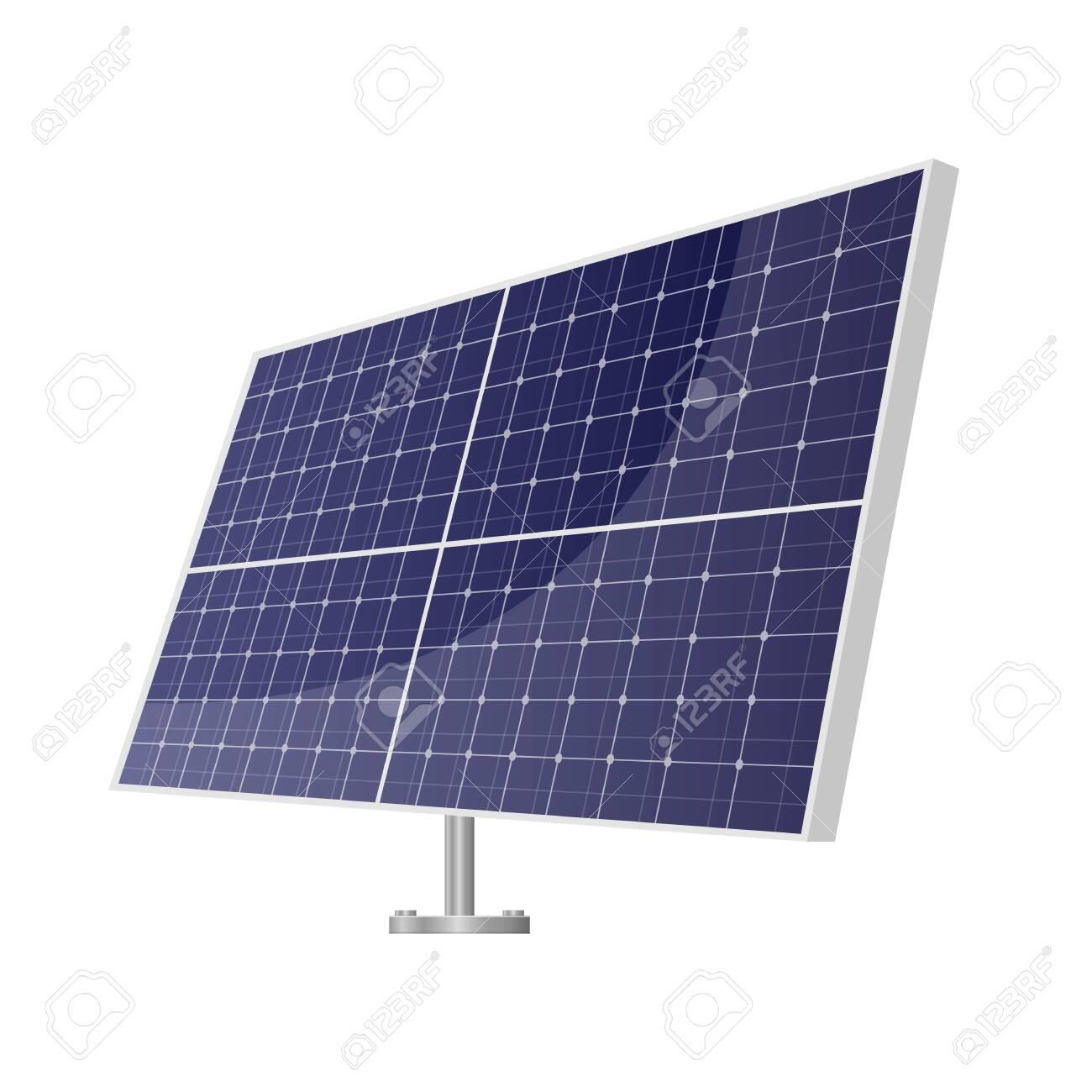 Solar panel vector design illustration isolated on white background - 151185194