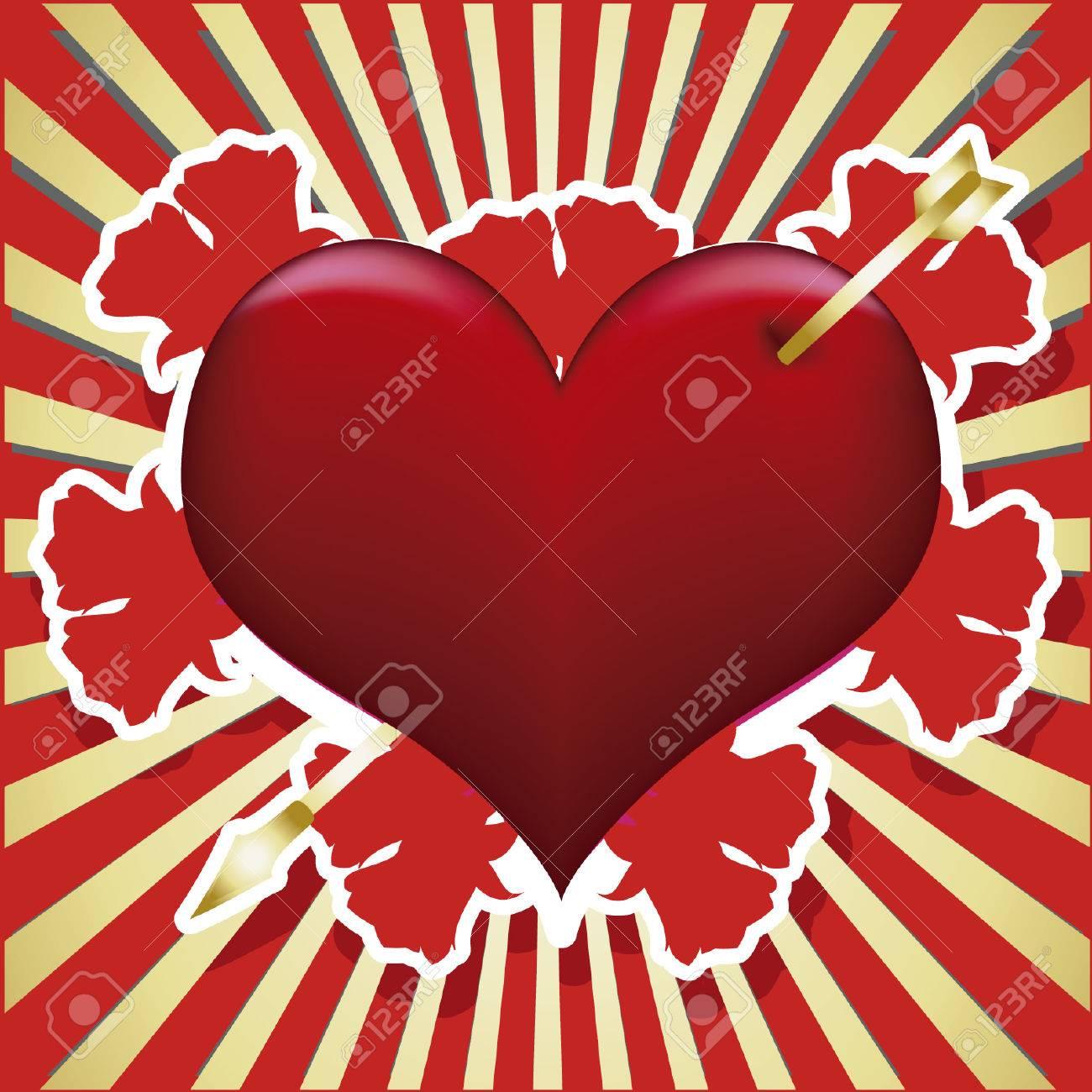 Excelente Patrones De Ganchillo Bufanda Roja Del Corazón Fotos ...