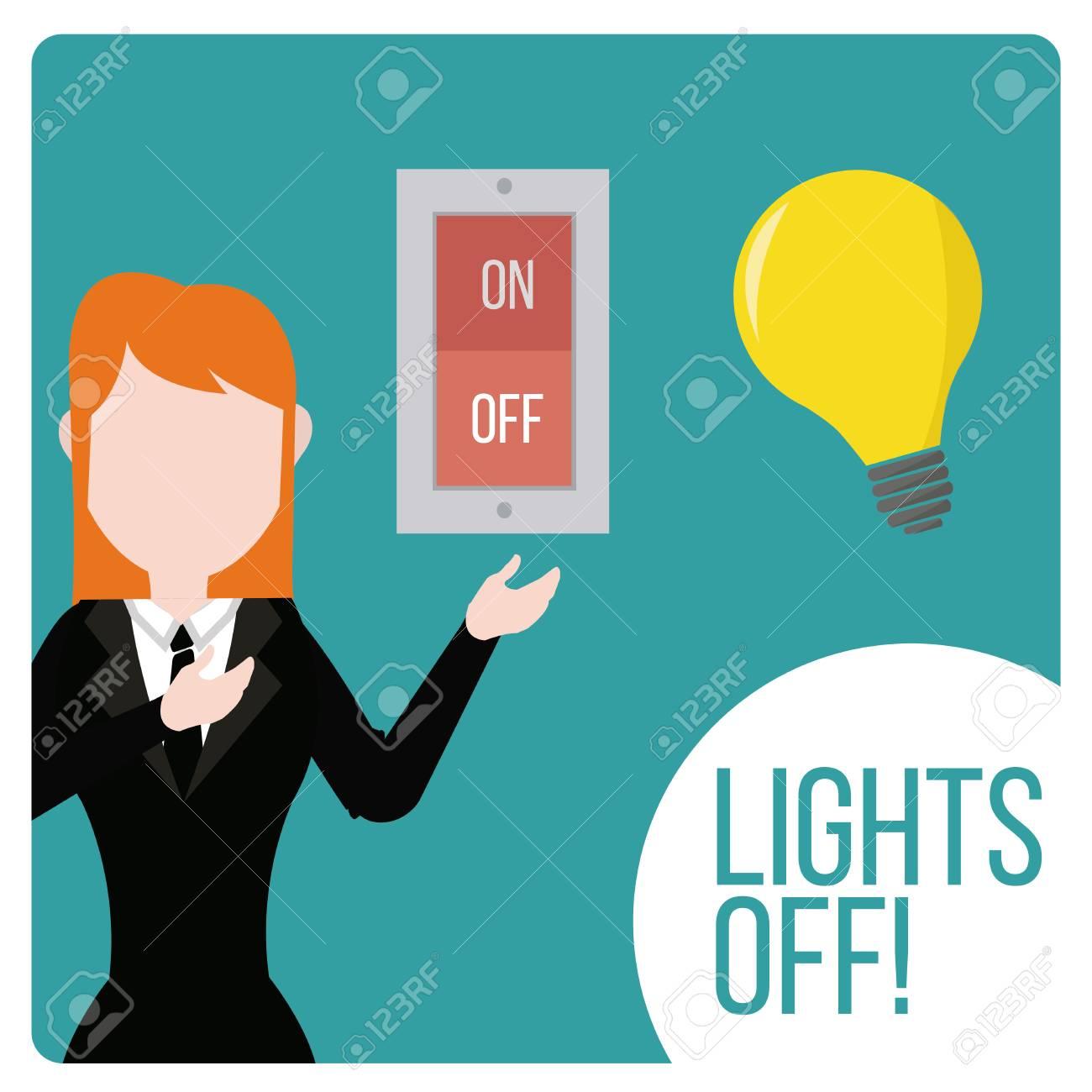 Licht Aus Design-Schalter Und Geräte Lizenzfrei Nutzbare ...