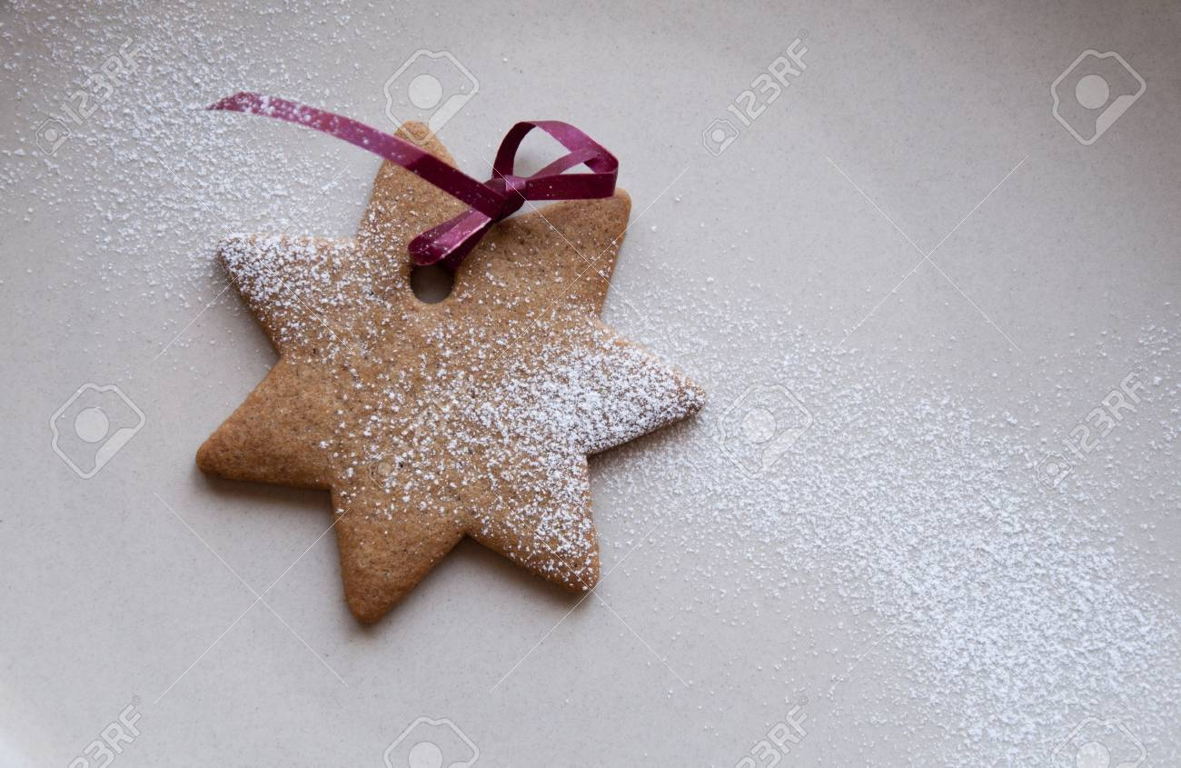 Star shaped cookie Stock Photo - 11919152