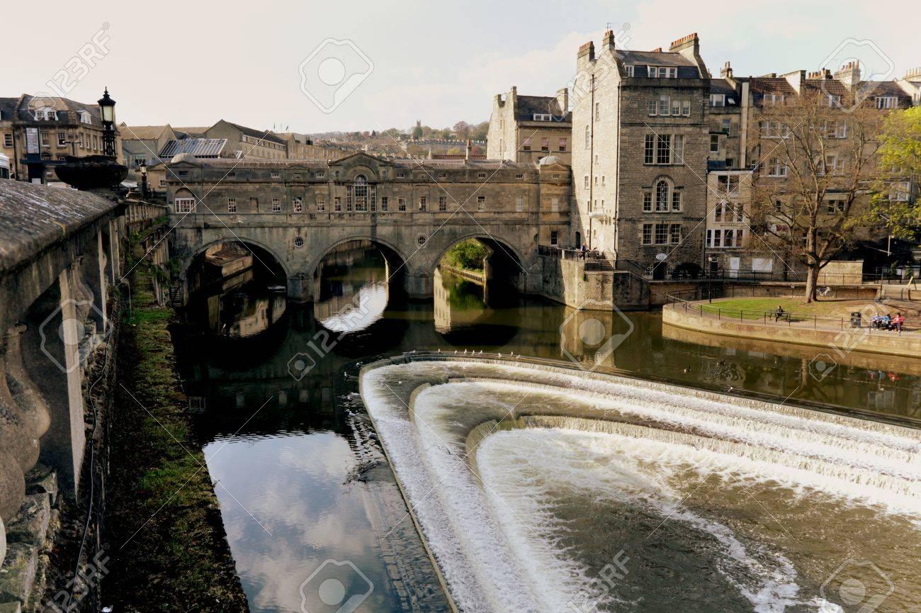Bath Vasca Da Bagno In Inglese : Il cuore della città antica di vasca da bagno con la storica