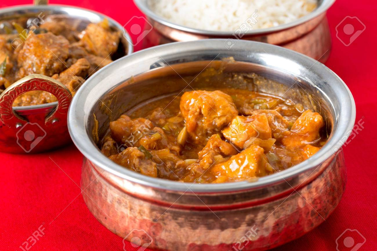 Indo-Chinese chili garlic chicken, a North Indian fusion food