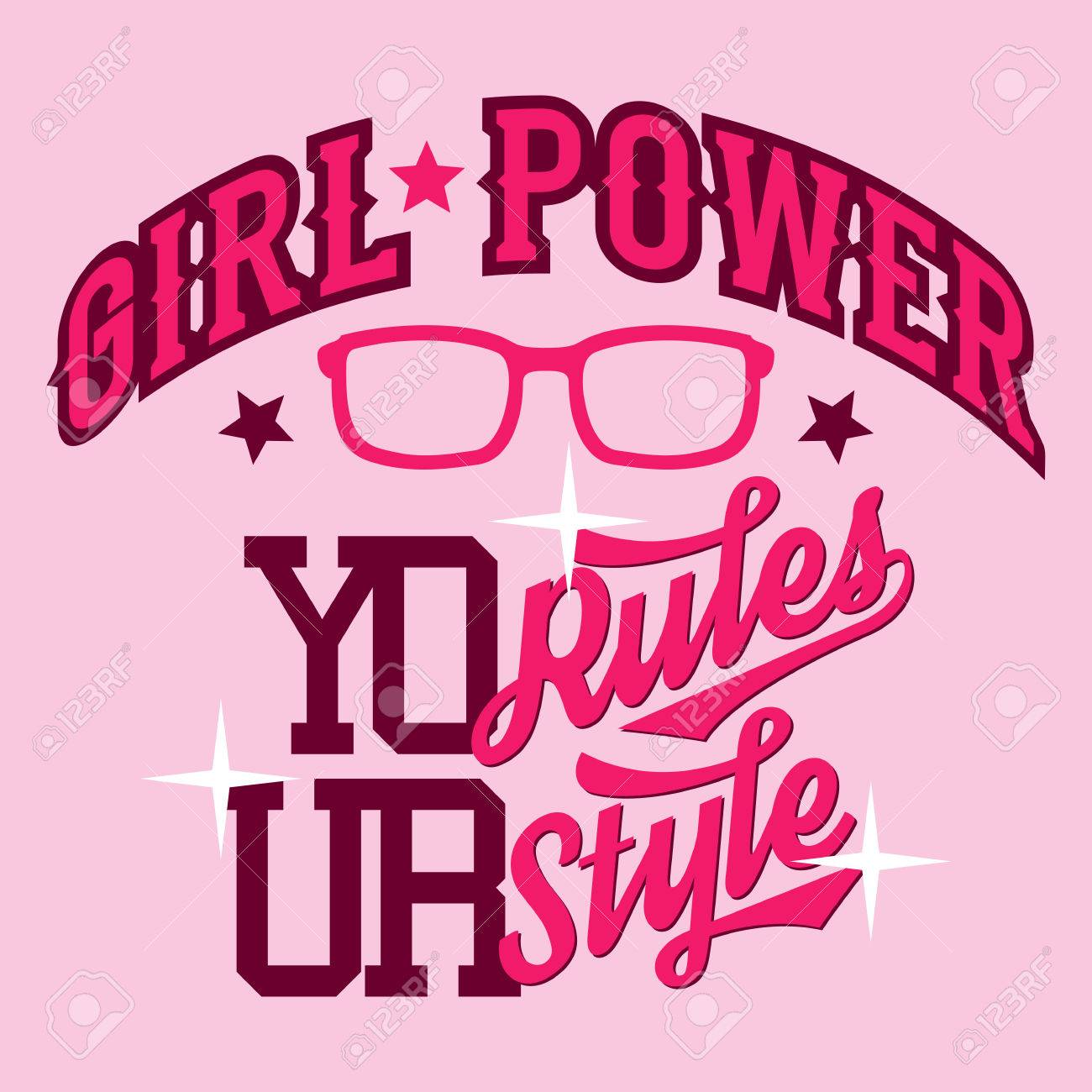 Swag Shirts For Girls Girl Power Swag Style T-shirt