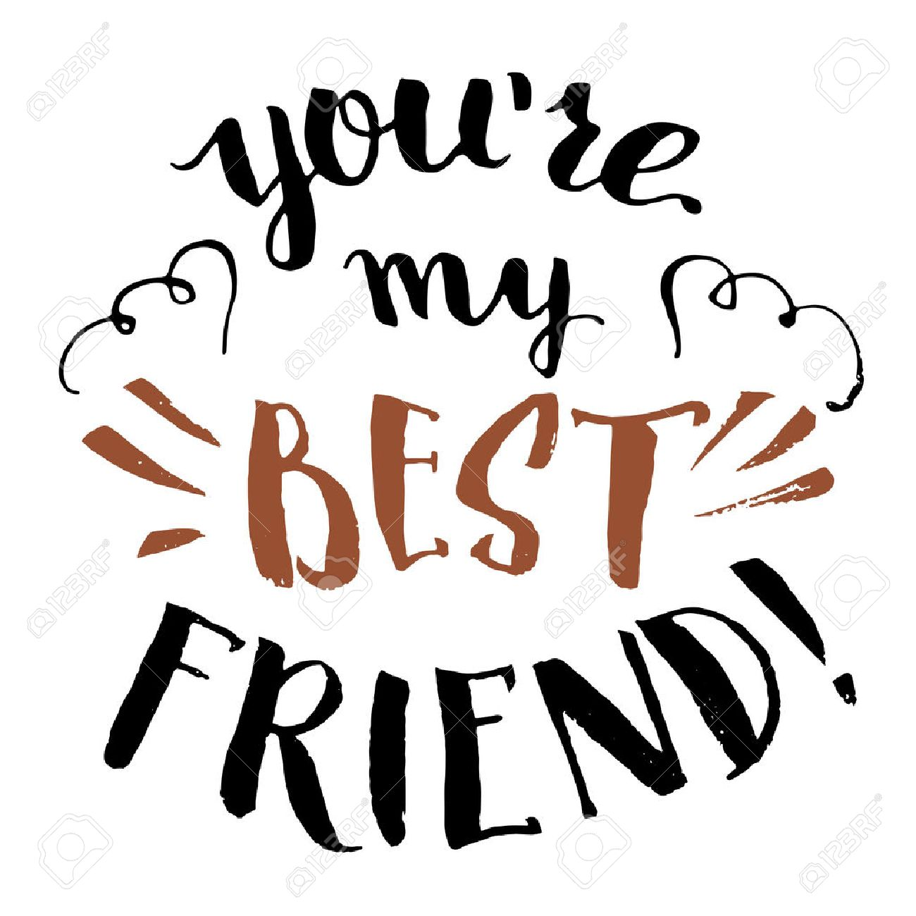 Latin Quotes About Friendship You're My Best Friendhandlettering And Calligraphy Friendship