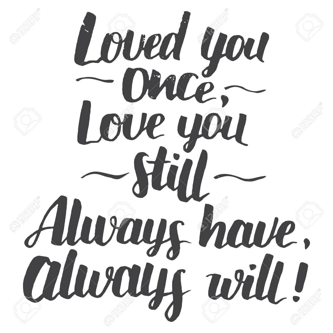 ich lieb dich noch