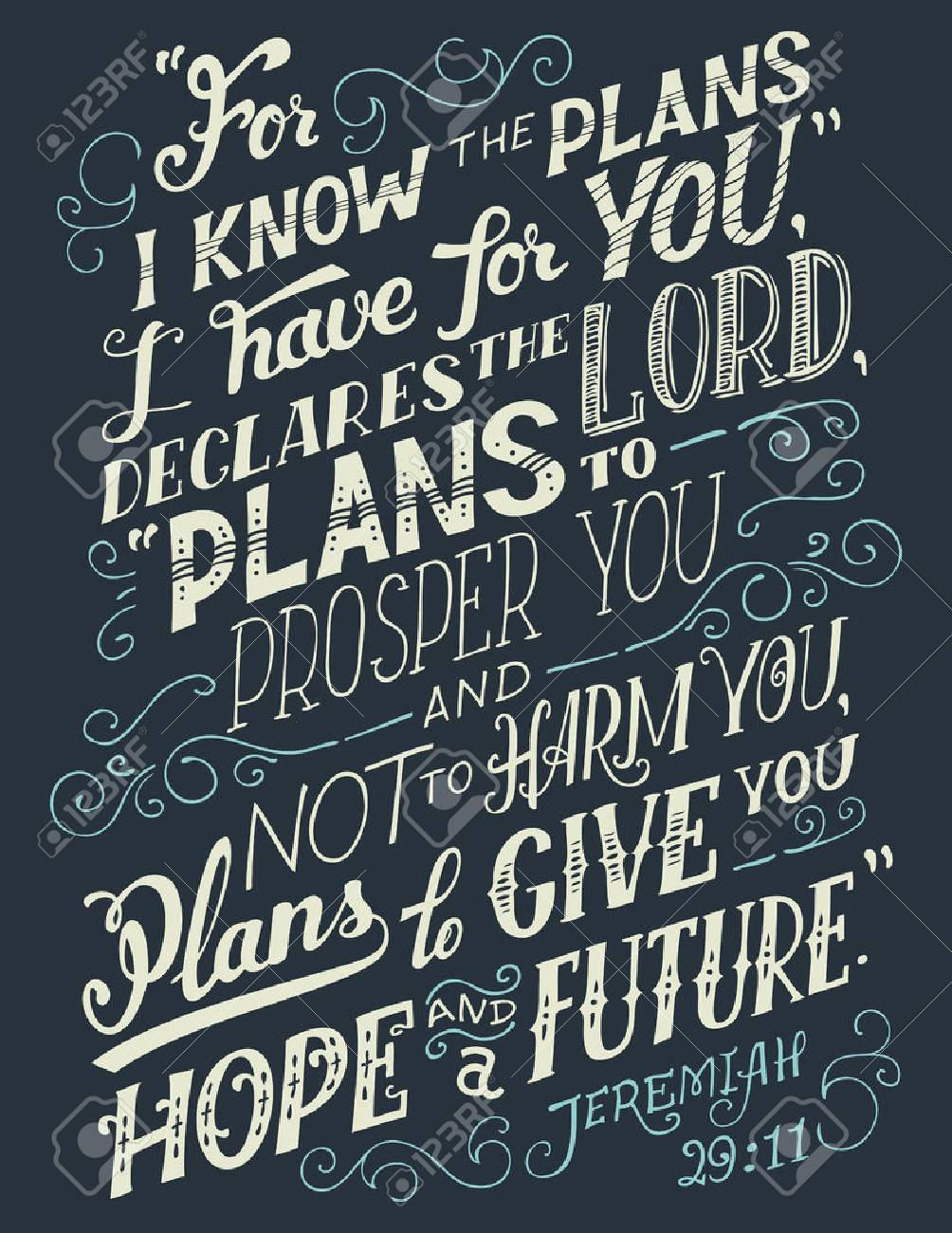 For I Know The Plans I Have For You Declares The Lord Plans