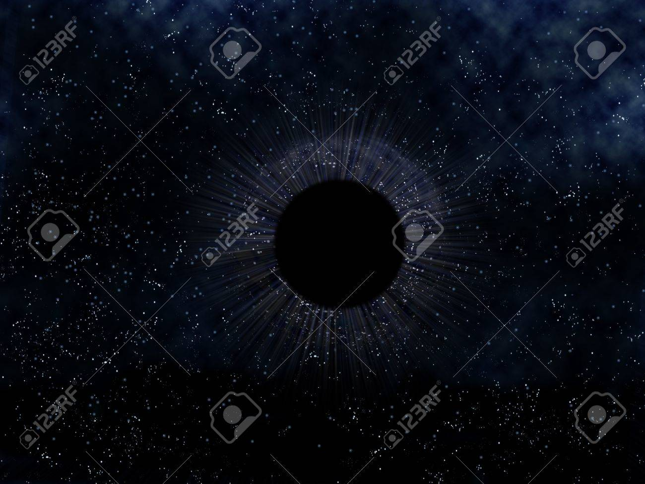 Outer Space Black Hole Black Hole in Outer Space