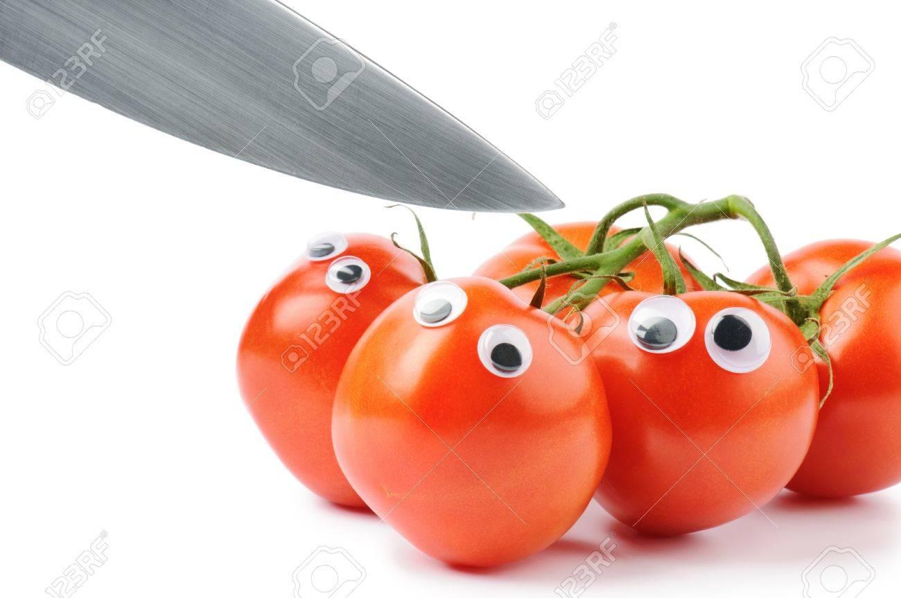 Resultat d'imatges de tomate ojos