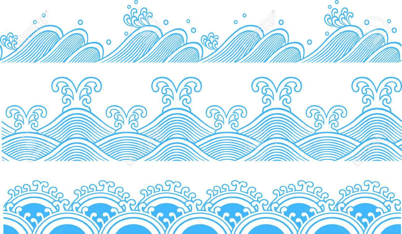 Ocean Seamless pattern Stock Vector - 7796728