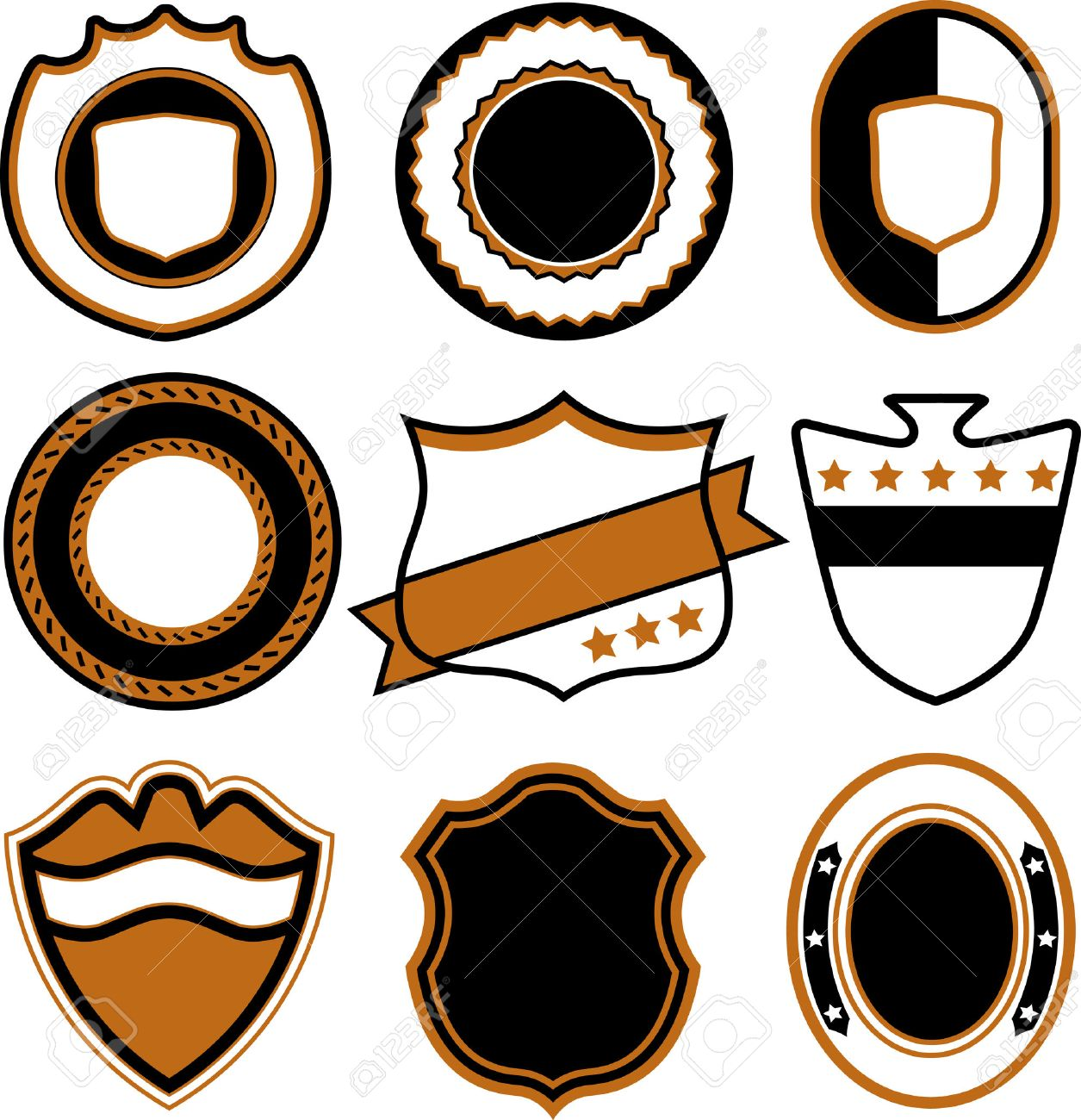 police badge emblem badge template