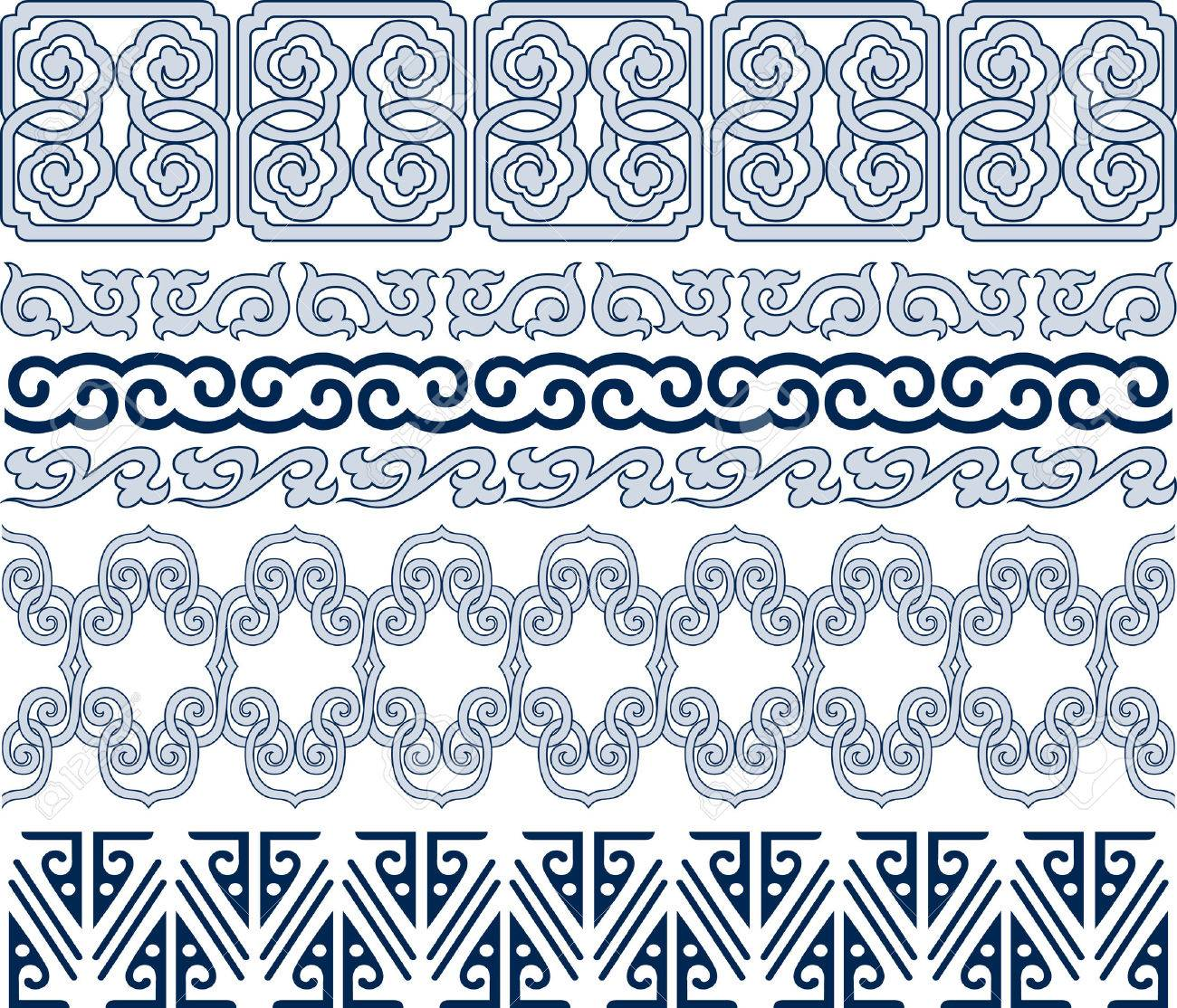 spiral repeated antique pattern Stock Vector - 8196880